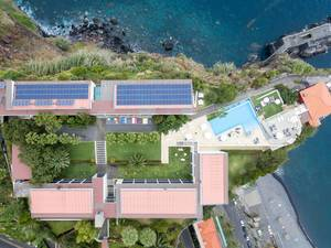 Aerial of Hotel Estalagem da Ponta do Sol