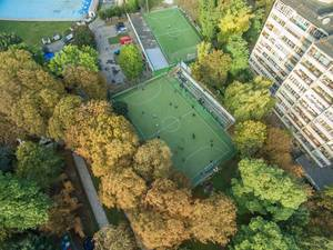 Aerial of Medic Sports Complex in Lviv