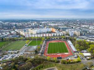 Aerial photo of Südstadion in Cologne
