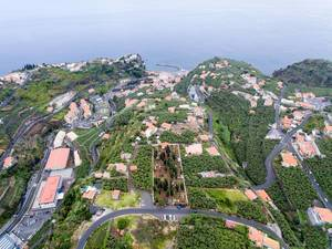Aerial view of Ponta do Sol