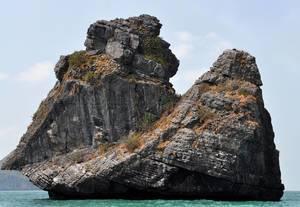 Affenfelsen (Monkey Island) im Ang Thong Marine Nationalpark
