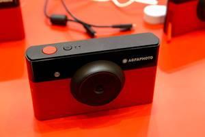 AGFA Photo-Kamera im Retrolook: Realipix Mini S - Instant Print Bluetooth Kamera