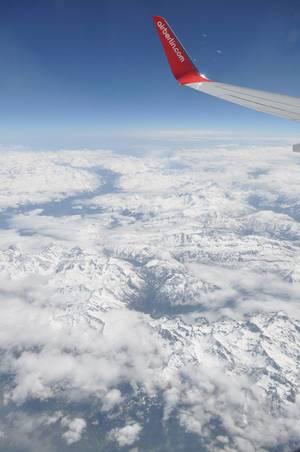 Airberlin und Alpen