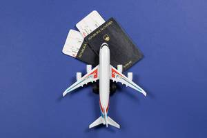 Airline tickets and documents