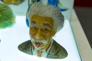 Albert Einstein Büste aus dem Vollfarben 3D-Drucker FFF