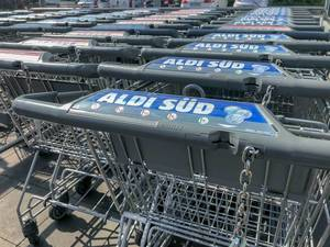 ALDI shopping cart