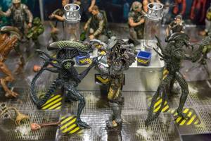 Alien and predator action figures