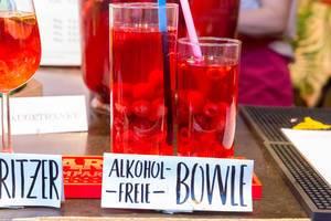 Alkohol-Freie-Bowle beim Film Festival am Rathausplatz in Wien
