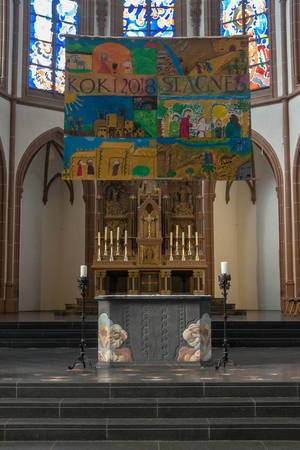 Altar in der Agneskirche in Köln