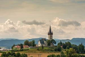 Alte Kirche in der Hohen Tatra Bergregion