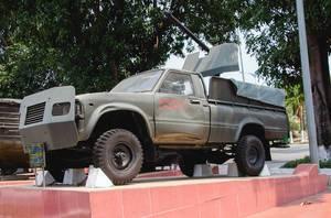 Alter amerikanischer Truck von Toyota