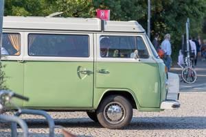Alter VW Camper aus der Hippiezeit