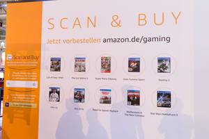 Amazon App Scan and Buy Bedienungsanleitung - Gamescom 2017, Köln