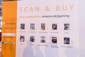 Amazon App Scan and Buy Bedienungsanleitung - Gamescom 2017, Köln