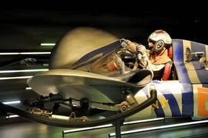 Anakin Skywalker im Pod Racer