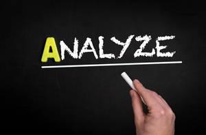 Analyze text on blackboard
