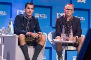 Andreas Bruckschlögel und Bernd Storm