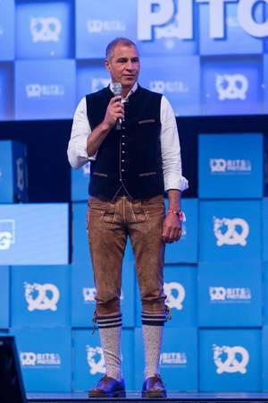 Andreas Etten auf der Bühne