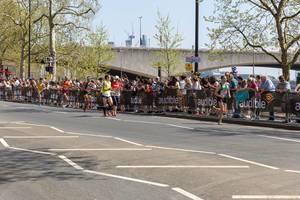 Andrew Siggers, Tomoyo Fujiwara, Wei Li, Chris Oddy, Rob Mctaggart - London Marathon 2018
