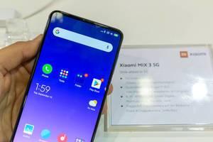 Android-Handy: Xiaomi Mi Mix 3 Smartphone mit 5G und großem Display