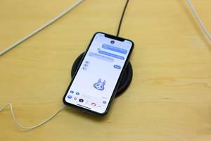 Animoji für das iPhoneX und kabelloses Laden