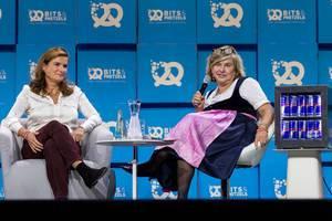 Ann-Kristin Achleitner and Stephanie Czerny @Bits & Pretzels 2017