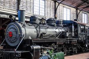 Antike Lokomotive