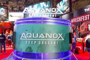 Aquanox Deep Descent am Messestand von THQ Nordic - Gamescom 2017, Köln
