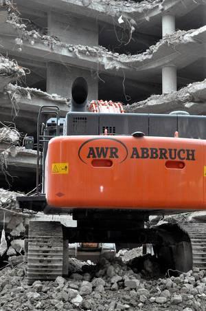 ARAL-Baustelle in Köln