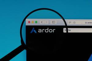 Ardor logo under magnifying glass