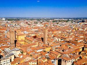 Arial view of Florence, Italy