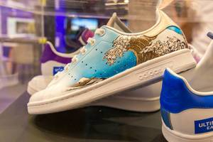 Artsy Adidas shoes: Ultimate Sneakers with drawing