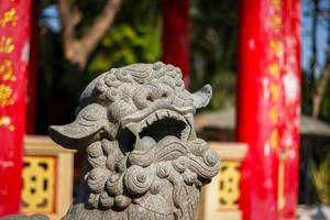 asian stone statue