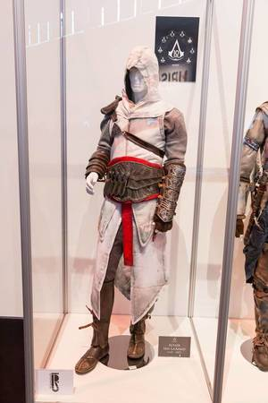 Assassin's Creed Cosplay Altair Ibn-La'Ahad Kostüm – Gamescom 2017, Köln