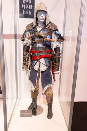 Assassin's Creed Cosplay Edward Kenway Kostüm – Gamescom 2017, Köln