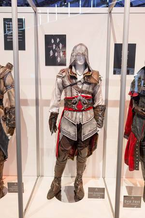 Assassin's Creed Cosplay Ezio Auditore Kostüm – Gamescom 2017, Köln