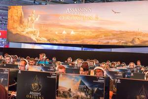 Assassin's Creed Origins gaming stage – Gamescom 2017, Cologne