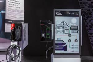 Audi e-tron Charging System Ladestation