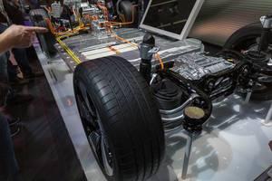 Audi e-tron drivetrain