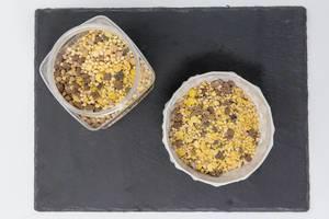 Aufsicht von Layenberger Low Carb Protein Keks-Müsli Schoko Crunchy