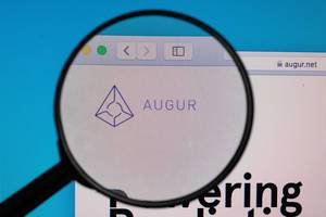 AUGUR logo under magnifying glass