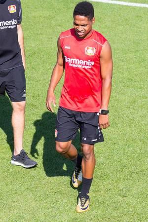 Ausgepowerter Wendell beim Training - Bayer 04 Leverkusen
