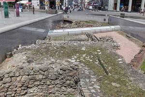 Ausgrabungen am Michaelerplatz in Wien