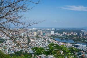 Aussicht auf die im Süden von Vietnam liegende Küstenstadt Vung Tau