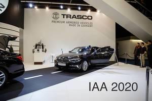 Ausstellung der Premium BMW-Modelle von TRASCO Bremen  bei der IAA 2017 tbd