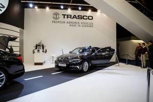Ausstellung der Premium BMW-Modelle von TRASCO Bremen  bei der IAA 2017