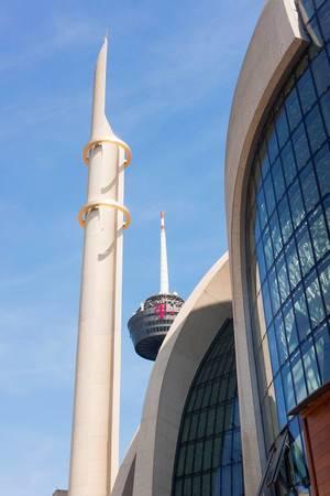 Außenaufnahme der Moschee in Ehrenfeld, Köln