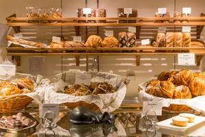 Bäckerei in Schweden mit typischen Backwaren