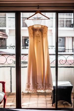 Backlit shot of Bridal Gown  Flip 2019