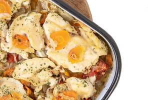 Baked Chicken Breasts with Carrots (Flip 2019)